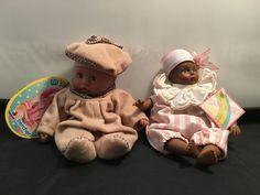 Vintage Dark Skin Dolls 2 pcs Set – Madame Alexander FAO Schwarz & Berchet in Dolls, Bears, Dolls, Vintage Madame Alexander, Dark Skin, Teddy Bear, Dolls, Bears, Animals, Vintage, Baby Dolls, Animales