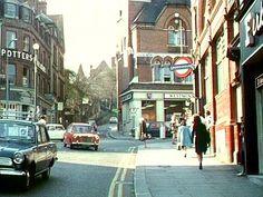 Hampstead Tube Station on the corner of Holly Hill and Heath Street. Camden London, East End London, Old London, West London, London Underground Tube, London Underground Stations, London Pictures, London Photos, Hampstead London
