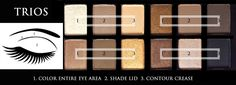 The NUDES by Maybelline New York TRIO Cheat Sheet. Via Exquisite Glow. Have a read and share it with friends =)