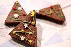 Brownie karácsonyfák Gingerbread Cookies, Brownies, Food And Drink, Kari, Cakes, Gingerbread Cupcakes, Cake Brownies, Cake Makers, Kuchen