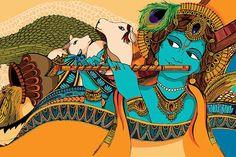 my-hindi-alma:  (via Draupadi on Behance)