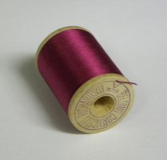 I think threads like this one would look fab on our party table!  Belding Corticelli Pure Silk Hand Sewing by FahrenheitVintage.   What a fantastic colour.