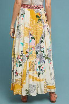 Anthropologie Bhanuni Mischa Maxi Skirt Size Medium