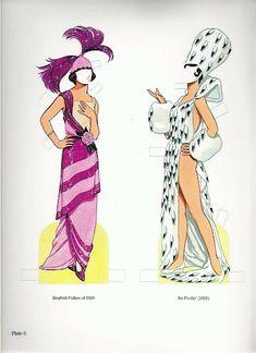 Ziegfeld Follies   Gabi's Paper Dolls
