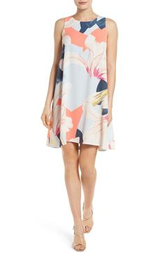 This warm-weather favorite, comes in a fresh floral print that is sure to make a statement.