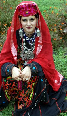 Gujjar Tribe Traditional Costume from india kashmir