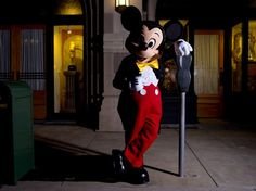 Model Citizen a Disney Photo of Mickey Mouse by photographer Noah Kalina