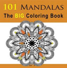 101 Mandalas The BIG Coloring Book  Our new book 101 Mandalas The BIG Coloring Book is now ready and available to customers worldwide from all Amazon outlets! Go here to view the book's page: https://www.amazon.com/Mandalas-Coloring-Book-Arts-Books/dp/1534936149.  This adult coloring book contains 101 delicate mandala designs guaranteed to deliver peace of mind and relaxation. The designs are printed on one side of the page to reduce bleed through. BIG and beautiful, it is suitable for all…