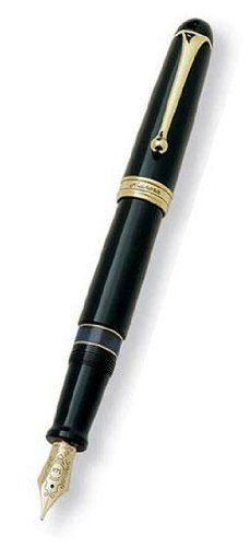 Aurora 88 Gold Plated Black Resin Large Medium Point Fountain Pen - AU-800M by Aurora. $423.08. Aurora 88 a timeless legend a great writing classic. Designed by the famous Marcelo Nizzoli this legendary cult pen from the 50s is back. It is the symbol of a manufacturing process still tied to various craftsman phases as well as to the most leading edge technology. An outstanding combination of Tradition and Technology.. Save 23% Off!