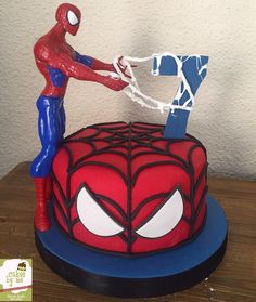 Miles Morales Spider Man Spider Verse Cake By M A S Cake