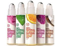 these are so cute and fruity, can't wait to add it to my collection :) 100% natural lip roll-ons!