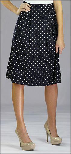 Chiffon Print Skirt MIKAROSE  www.mikarose.com