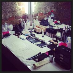 Lisa Eldridge, Professional Makeup artist's makeup kit.