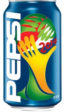 Pepsi World Cup 2014 can design #packaging PD