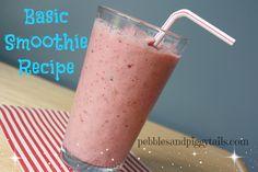 Basic Smoothie Recipe on MyRecipeMagic.com