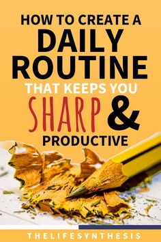 Daily Routine Examples to Help you Take Charge of Life! - Health and wellness: What comes naturally Healthy Foods To Eat, Healthy Habits, Healthy Life, Be Organized, Take Charge, Productive Things To Do, Evening Routine, Morning Habits, Productivity Hacks