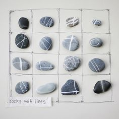 stones with lovely lines.....