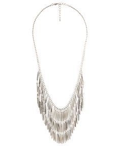 Beaded Fringe Necklace  CAD $10.80