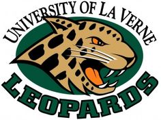 University of La Verne - Leopards, colors are Orange and Green