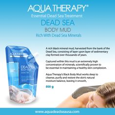 Enjoy the amazing age-defying properties of this wonderful mud. Perfect for killing acne-causing bacteria, effectively treating psoriasis, minimizing pores, reducing redness and fading unsightly wrinkles, fine lines, discoloration and more. A true comprehensive beauty solution. For skin health and visible results there's simply no comparison. Furthermore, Dead Sea Mud aids in blood circulation for overall health and pain relief of the body. From The Lowest Point ON Earth  >> #The_Dead_Sea