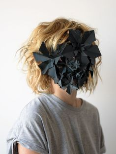 barcelona based designer hector sos created this series of unusual paper creations for a spanish paper company No Face, Photo Portrait, Portrait Photography, Conceptual Photography, Fashion Photography, Faceless Portrait, Paper Mask, Body Adornment, Hidden Face