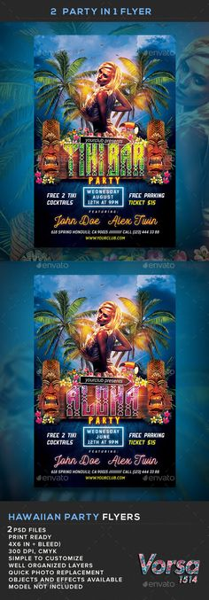 Pool Party Flyer Template PSD Flyer Templates Pinterest - pool party flyer template