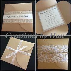 Petal fold invite ideas