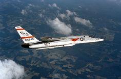 """US Navy (RVAK-3) RA-5C """"Vigilante""""."""