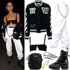 Find out where your favorite celebrities buy their clothes and how you can get their looks for less. Madison Beer Style, Madison Beer Outfits, Chic Outfits, Sport Outfits, Red Sweatpants, Supreme T Shirt, White Tube Tops, 2000s Fashion, Kardashian Style