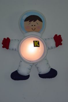 This would make great night lights for the boys' room :)