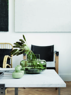 Marimekko's Urna is a beautiful, cylinder-shaped vase designed by Carina Seth-Andersson. Due to its generous size and lightweight appearance, the Urna vase is ideal for large displays and flower arrangements. Decor, Vase Design, Interior, Handmade Vase, Marimekko, Decor Online, Interior Styling, Vase, Flower Vases