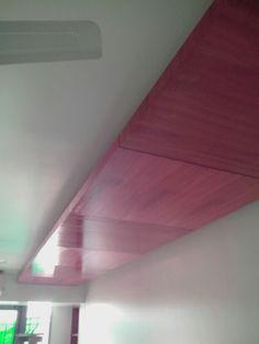 veneered false ceiling