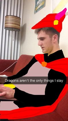 Prince Philip from Sleeping Beauty | Student Turns Roommate Into A Variety Of Disney Characters On Snapchat