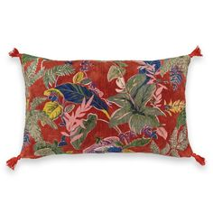 Funda para cojín, hiemala terracota Am.Pm | La Redoute St Brevin Les Pins, Red Couch Living Room, Printed Cushions, Motif Floral, Cosy, Design Art, Tapestry, Fancy, Throw Pillows