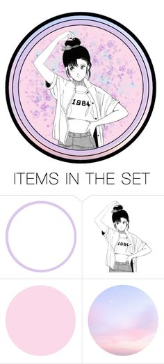 """""""Avoir le cul bordé de nouilles*"""" by stop-being-kawaii ❤ liked on Polyvore featuring art"""