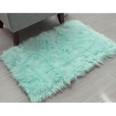 Mint Green Rooms, Mint Rooms, Mint Green Decor, Faux Fur Area Rug, Faux Sheepskin Rug, Room Rugs, Area Rugs, Aesthetic Header, Mint Aesthetic