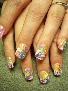Color Line Acryl Design Nails    ...BTW,Please Check this out:  http://artcaffeine.imobileappsys.com
