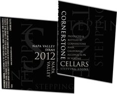 A Great Napa Valley Syrah by Cornerstone Cellars - Enobytes Wine Online