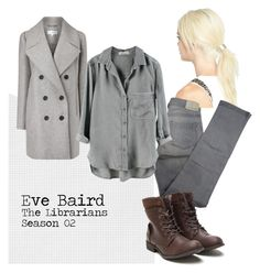 """Eve Baird"" by shaylinka on Polyvore featuring L. Erickson, Carven and Comptoir Des Cotonniers"