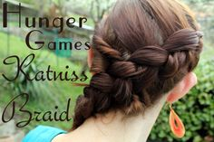 katniss braid.  I like this version better than some of the other one's I've seen
