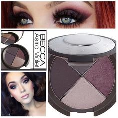 Becca Ultimate EyeColor Quad - Astro Violet Becca Luxe Large Palette of Eyeshadows in matte, demi-matte & metallic to color, contour & highlight. Highly pigmented mineral powders build quickly & blend easily for lasting silky smooth finish. This quad of velvety smooth powder shadows are: Astro Violet - matte black fig/ metallic plum/ metallic platinum/ matte plum. Retails for $40!! BNIB. Never used or swatched. 100% Authentic. No Trades, No PP. Becca Makeup Eyeshadow