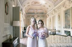 The Bride & her Bridesmaid with their bouquets. Groomswear by Louis Copeland & Sons. Photography by: Ros from Couple Photography. Wedding Blog, Wedding Photos, Real Weddings, Destination Weddings, Wedding Couples, Couple Photography, Trip Planning, Florence, Bridesmaid