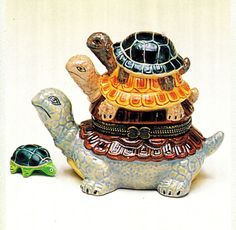 Trinket Box - TURTLES