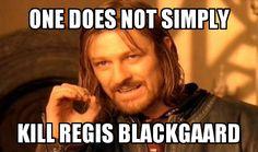 Credit: Jeremiah L. | Adventures in Odyssey | Regis Blackgaard So true....