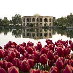 Meio da primavera em Tabriz (onde o clima é mais ameno)