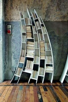 33 unlikely bookshelves (which lives its own life can we say ...) - Comfortable home