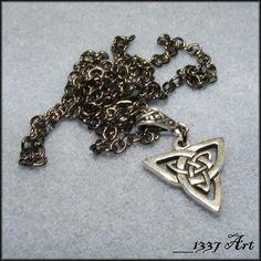 Men's Celtic Jewelry | Mens Celtic Necklace / Unisex Jewelry / Necklace for Men / Celtic ...