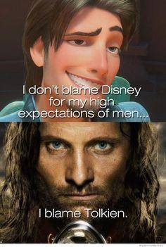 Hahaha!! I Blame Tolkien
