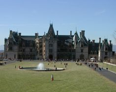 Biltmore Estate. Gorgeous here at Christmastime.