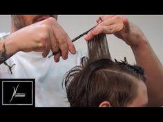 Corte de cabelo feminino passo a passo inspirado em ARROJO. - YouTube